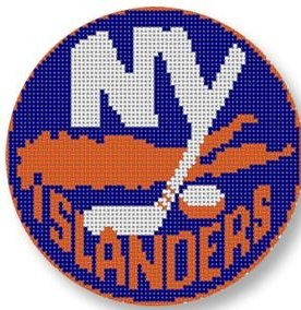 CBKKYPO525-NEW YORK ISLANDERS ORNAMENT by CBK NEEDLEPOINT