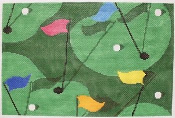CBKLMPL05-GOLF GRASS by CBK NEEDLEPOINT