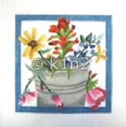 CBKMN2032-COFFEE POT by CBK NEEDLEPOINT