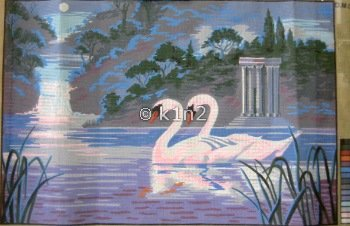 CDA12947-SWANS by Collection d'Art