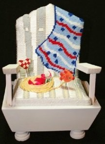 CSSP21 BEACH PINCUSHION CHAIR KIT by Cheryl Schaeffer