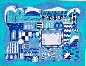 DAJW54T-BLUE TALLIS BAG by Danji