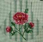 DC711-Roses Purse by Decorating Committee