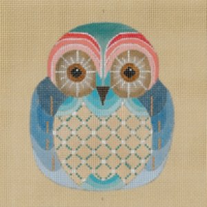 BABY HOOTER OWL D  by Dede STITCH GUIDE-DD17081Dsg