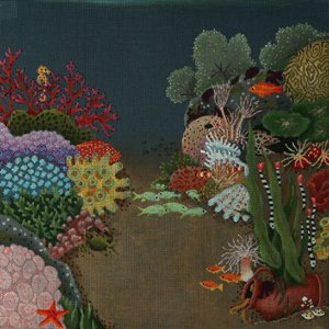 Undersea Garden by dede Needleworks STITCH GUIDE dede1378sg