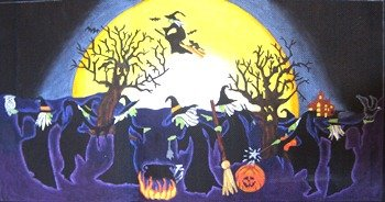 DEDE18018-MOONLIGHT DANCING WITCHES by Dede