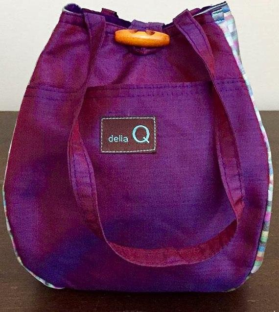 ROSEMARY BAG - Purple by Della Q