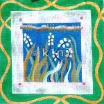 DHVES3645-REEDS WITH DRAGONFLIES by Elements