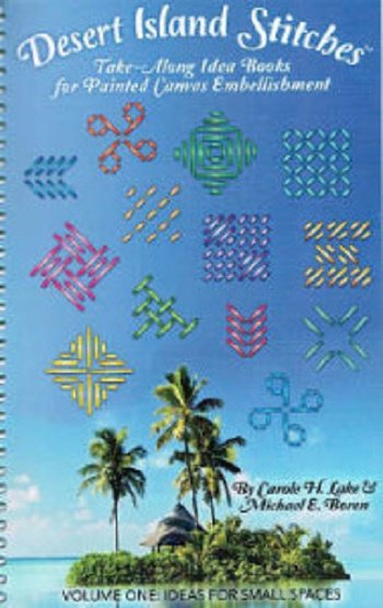 DESERT ISLAND STITCHES by carol lake michael boren-DIS