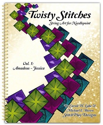 TWISTY STITCHES by CAROL LAKE and MICHAEL BOREN-DISTS
