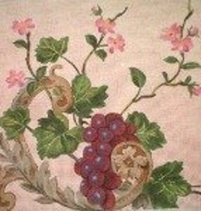 DJ014-GRAPES and BLOSSOMS by DJ Designs