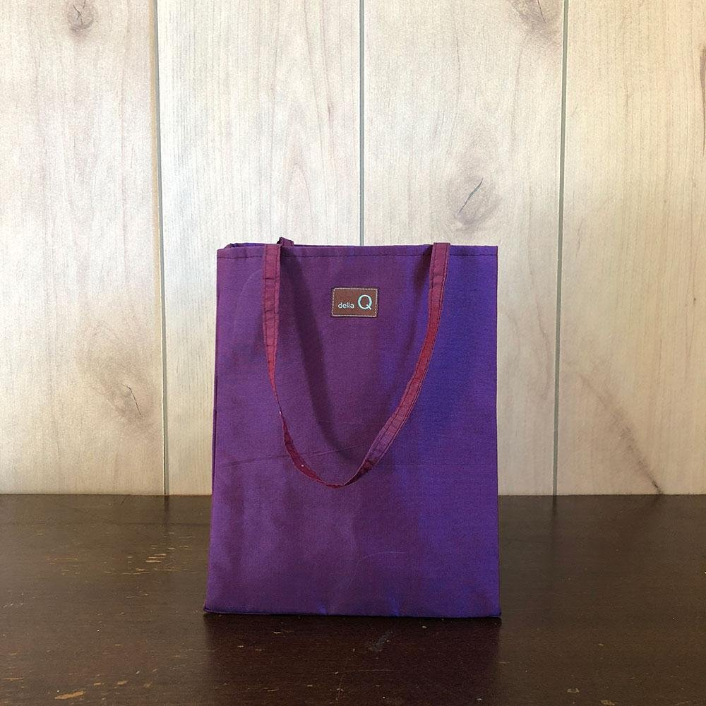 PRISCILLA FABRIC BAG - Purple by Della Q