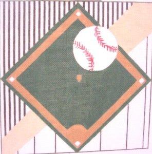 DRSC210-BASEBALL DIAMOND by Dee Ross