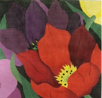 GIANT TULIPS by Dede STITCH GUIDE- ED820sg