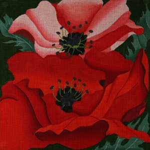 ED838-GIANT POPPIES by dede