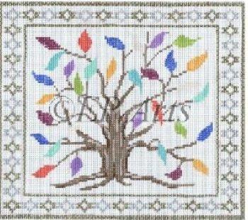SREP273Tf-TREE OF LIFE TEFILLIN BAG by Susan Roberts