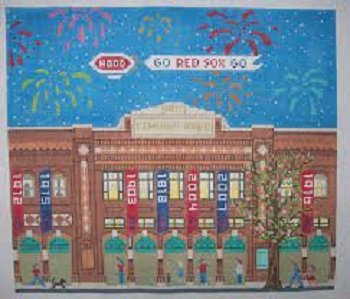 CBKSAPL20-13 FENWAY PARK by CBK NEEDLEPOINT