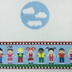 CHILDREN'S TZEDAKAH BOX by Funda Scully STITCH GUIDE  FSR33sg