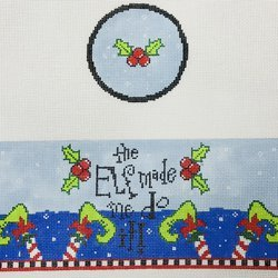 FS R48 THE ELF MADE ME DO IT BOX TOP by Funda Scully