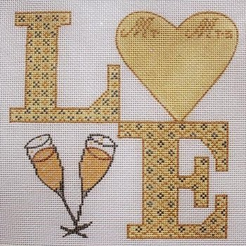LOVE WEDDING by Funda Scully FSLOVEW Stitch Guide