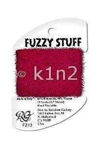 FZ13 Red Fuzzy Stuff by Rainbow Gallery-FZ13