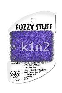 FZ24 Purple Fuzzy Stuff by Rainbow Gallery-FZ24