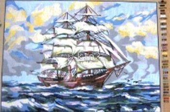 Ship at Sea by Gobelin-GOB14791