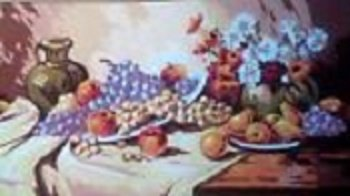 LARGE SUMMER FRUITS ON TABLE by Gobelin-GOB21128