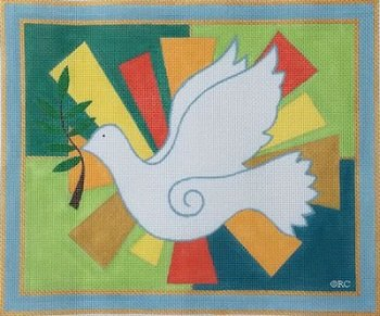 RCHO1086-PEACE DOVE TALLIS by Ray Crawford