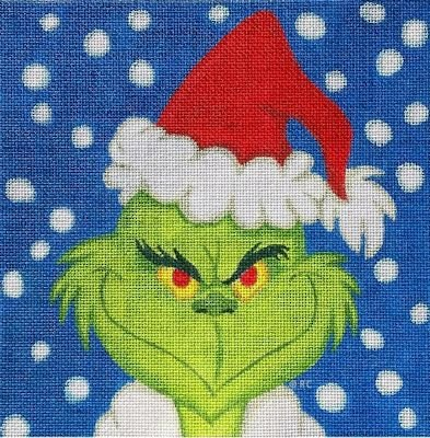 GRINCH PORTRAIT by Ray Crawford Stitch Guide - RCHO1621sg