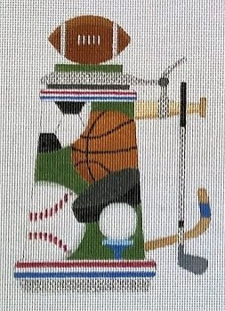 SPORTS STEIN ORNAMENT by Raymoond Crawford STITCH GUIDE-RCHO1822sg
