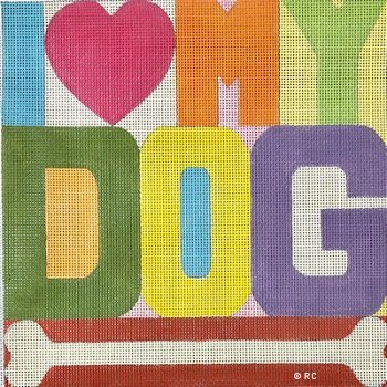 RCHO2065-I LOVE MY DOG by Ray Crawford