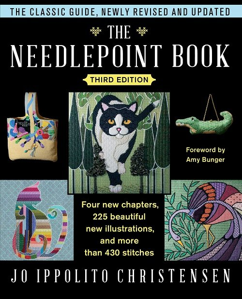 THE NEEDLEPOINT BOOK 3RD EDITION HARDCOVER BY JO IPPOLITO CHRISTIANSEN-JIC