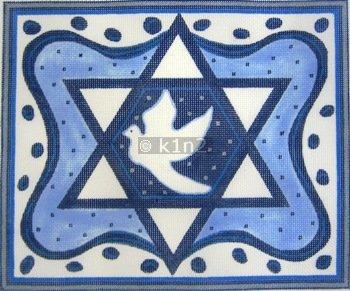 BLUE STAR TALLIS BAG by Julia-JJN2283