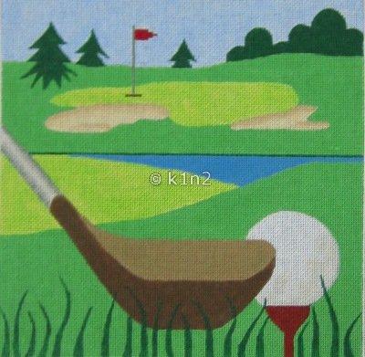 JNP4-Golf Tee by Jane Nichols