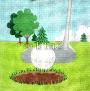 JNP5-Golf Putt by Jane Nichols