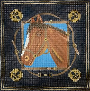 JPA141 HORSE by JP Needlepoint