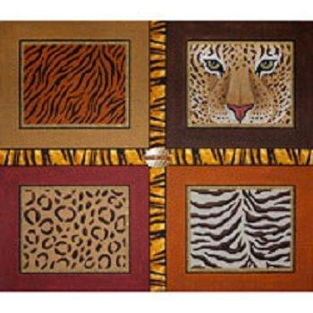 JPA253 Animal Print by JP NEEDLEPOINT