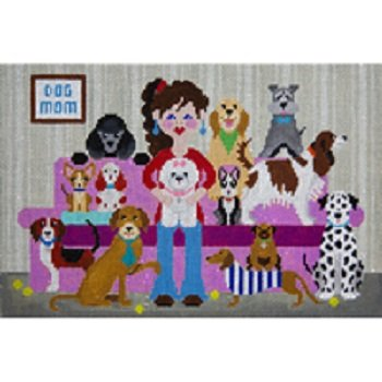 DOG MOM by JP Needlepoint STITCH GUIDE JPA452sg