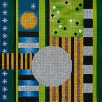 JPIPL557 TOTAL ECLIPSE TEFILLIN OR PILLOW by JP Needlepoint