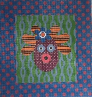 JPMJ008 MRS. POTATO HEAD by JP Needlepoint