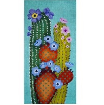 JPV103 CACTUS SMACKED US SMALL by JP Needlepoint