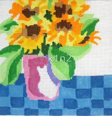 JS141D-Small Bouquet 4 by Jean Smith