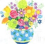 JS31c-Summer Bouquet 3 by Jean Smith
