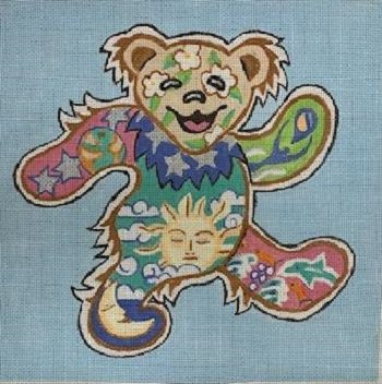 Grateful Dead Bear STITCH GUIDE JUDB3045sg