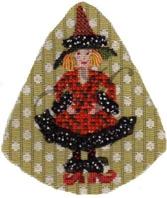 KCNKAH15-Marmi Morbidia Witch on a Stick by Kelly Clark