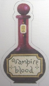 KH318-HALLOWEEN VAMPIRE BLOOD BOTTLE by Kirk and Hamilton