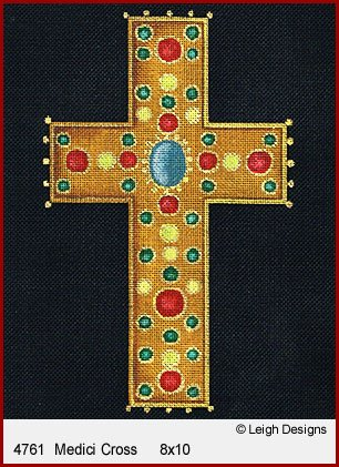 L4761-Medici Historic Cross by Leigh Designs