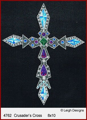 L4762-Crusader's Historic Cross by Leigh Designs