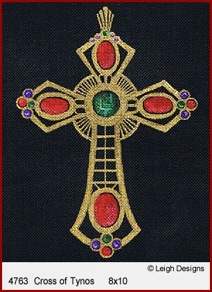 L4763-Cross of Tynos Historic Cross by Leigh Designs